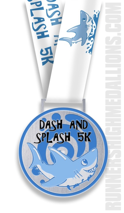 Dash and Splash Medal