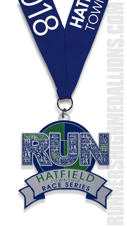 Run Series Medal